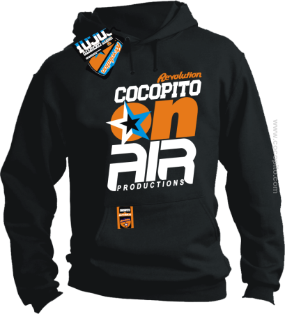 COCOPITO On-Air Productions Logo - bluza standard