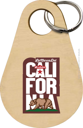 California Bear Symbol - Breloczek