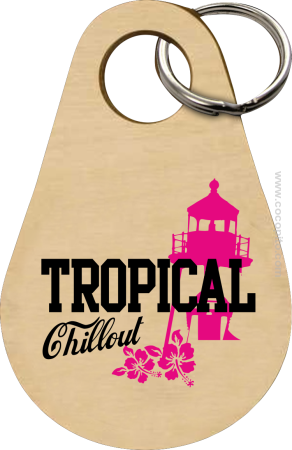 Tropical Chillout Style - Breloczek