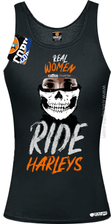 Real Women Ride Harleys - TOP damski