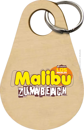 Malibu Beach Zumba Los Angeles - Breloczek