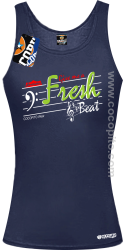Give me a Fresh Beat - Top damski granat