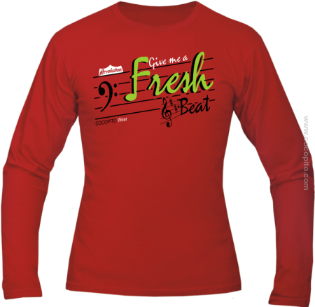 Give me a Fresh Beat - Longsleeve męski