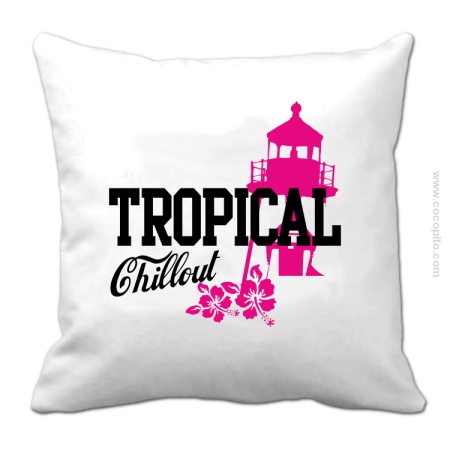 Tropical Chillout Style - Poduszka