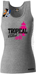Tropical Chillout Style - Top damski melanż