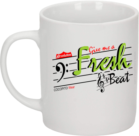 Give me a Fresh Beat - Kubek ceramiczny