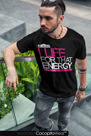 I life for THAT ENERGY - koszulka męska