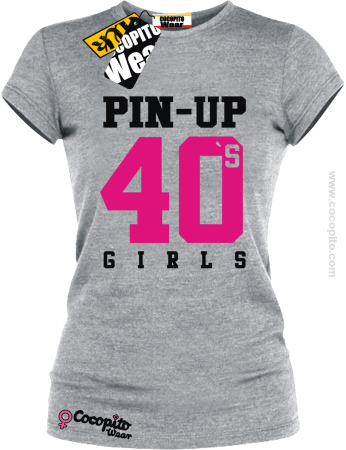 PIN UP Girls Athletic 40`s - koszulka damska