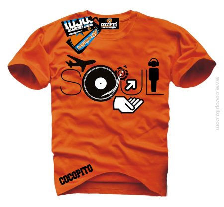 SOUL Vacation DJ t-shirt