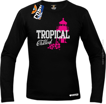 Tropical Chillout Style - Longsleeve męski