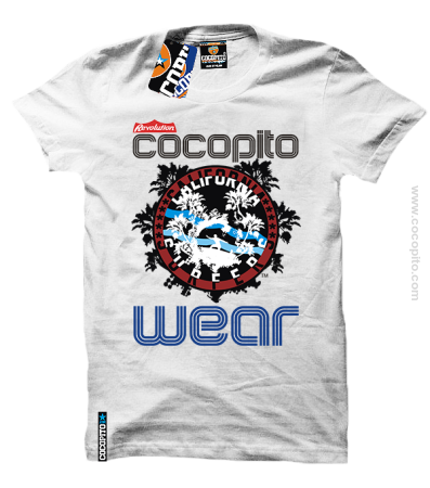 California Surfers Cocopito Wear - koszulka męska men tshirt