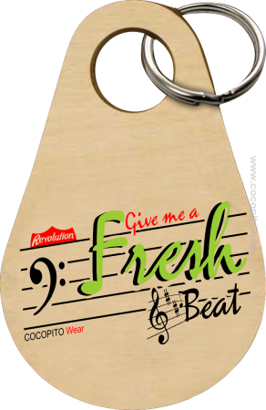Give me a Fresh Beat - Breloczek