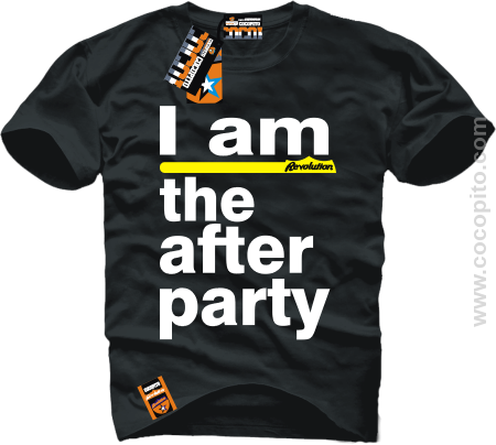 I am the After Party - koszulka męska