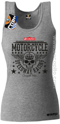 Motorcycle Crown Skull Speedway - Top damski melanż