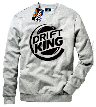 Drift King - bluza standard bez kaptura