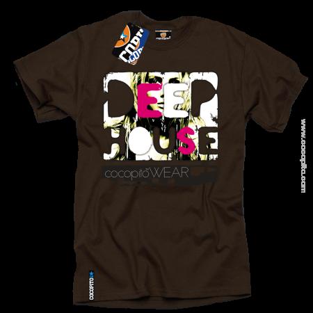 deep hpouse clothes shockx wear koszulki z nadrukiem muzyczne