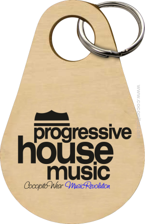 Progressive House MUSIC - Breloczek
