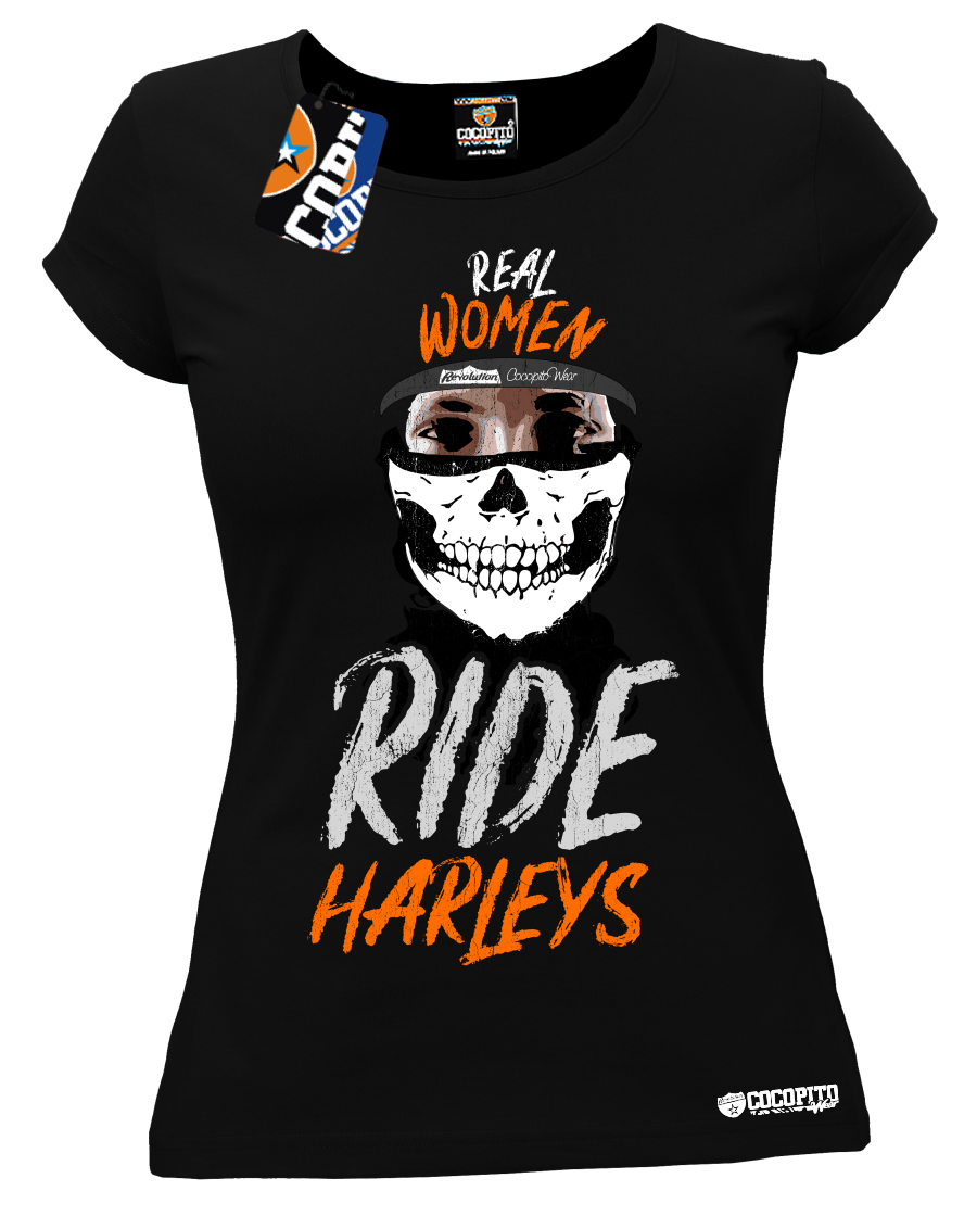 Real Women Ride Harleys