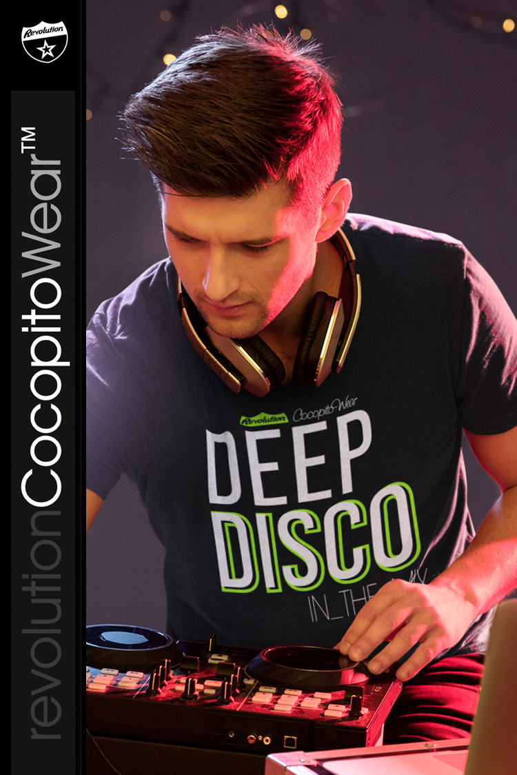 Deep Disco In the Mix COCOPITO - koszulka męska