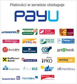 PayU Akceptujemy płatności COCOPITO WEAR