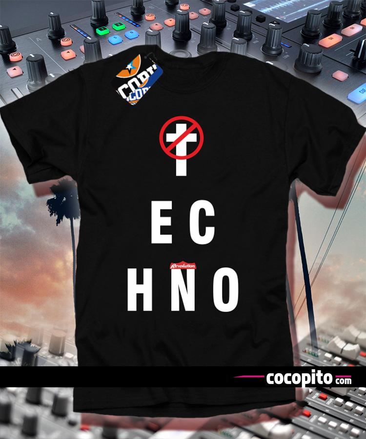Techno not die new tshirt cocopito wear KOSZULKA z nadrukiem wakacyjna