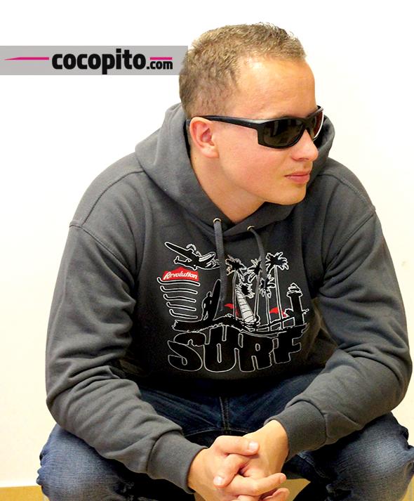 cocopito surfing tshirt